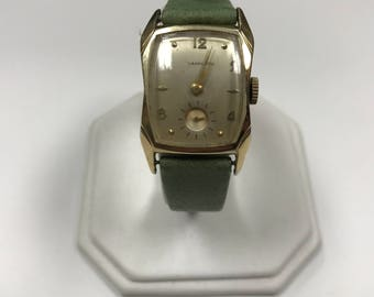d078 Vintage Original 1950's Hamilton 770 22J 10k Gold Filled Men's Wrist Watch