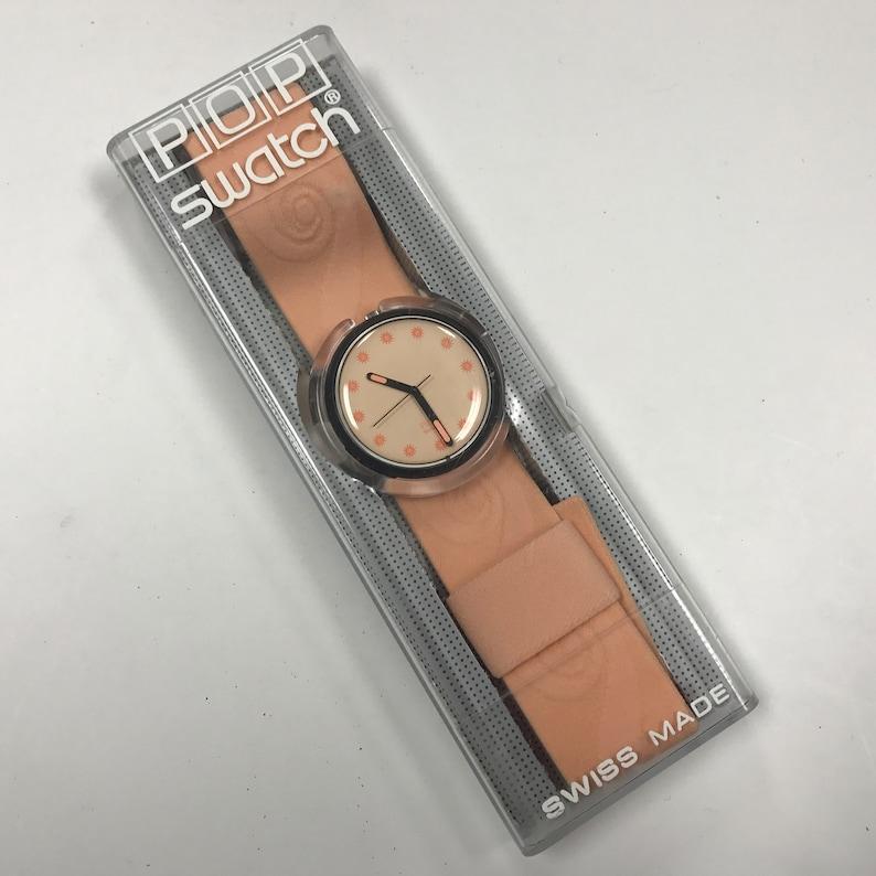 b94f2934d5c66 C722 1992 montre Swatch Pop Granatina PWB167   Etsy