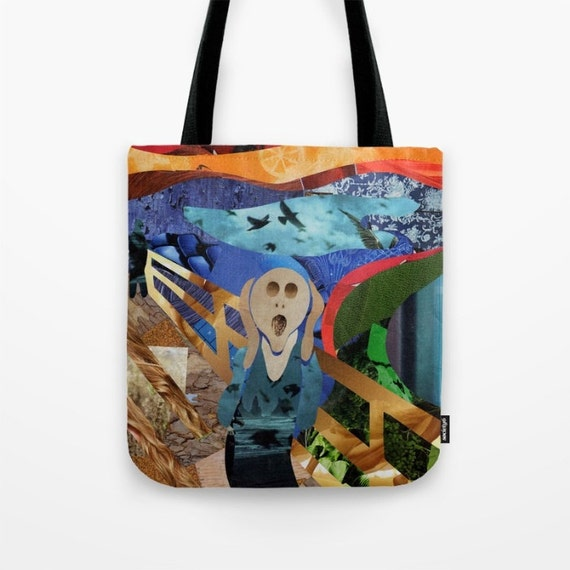 The Scream Bag Canvas Tote Bag Womens Totes Shopping bag  c815912d0