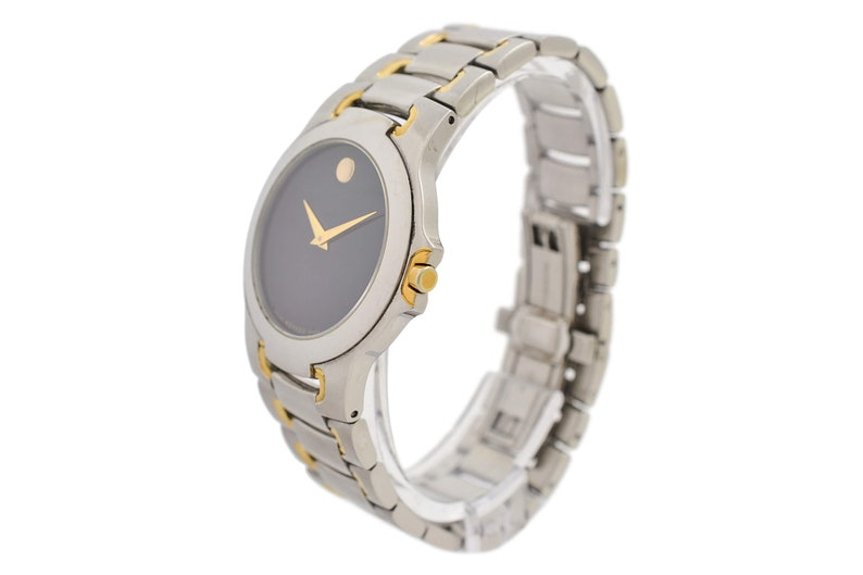 Vintage Movado Museum 81-G1-1898 Stainless Steel Mens Quartz Watch 1770 -  Offers Welcome!