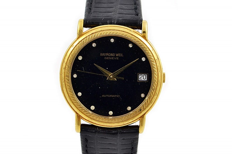 Vintage Raymond Weil Geneve 2910 Gold Plated Automatic Midsize Etsy