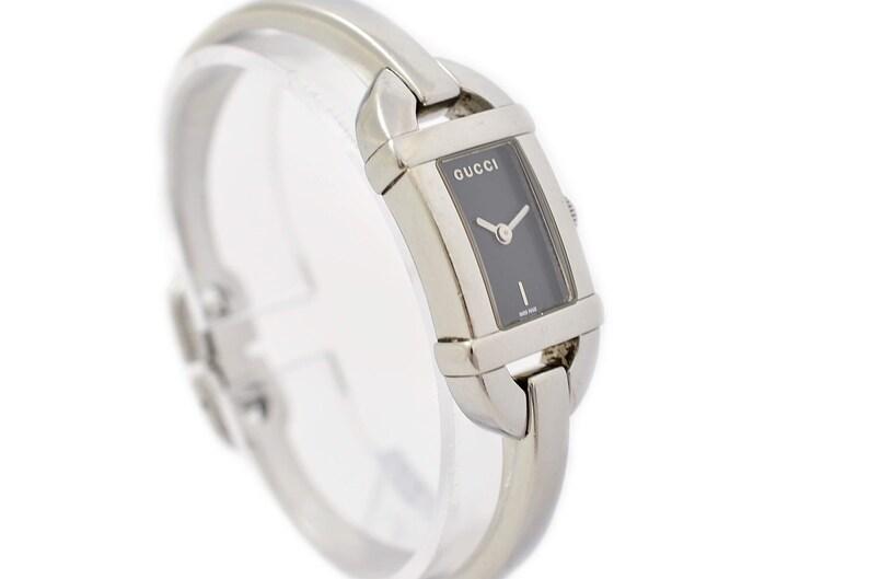 044d2380d3f Vintage Gucci 6800L Stainless Steel Bangle Quartz Ladies Watch