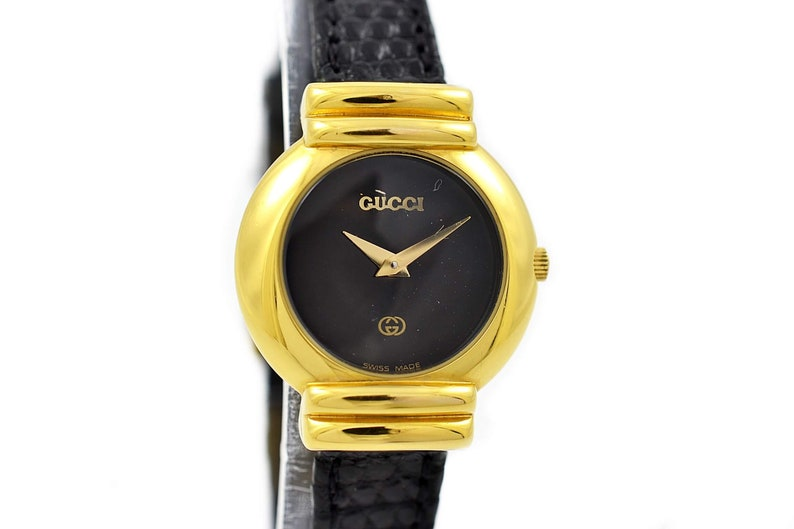 12593639442 Vintage Gucci 5300L Gold Plated Quartz Ladies Watch 1654