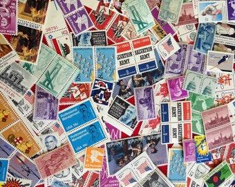 25 DOLLARS Face Value US Mint Stamps Lot Discount Vintage Postage
