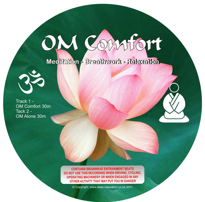 Om Comfort - Om Alone (with Binaural Beats) De-Stress - Relaxation -  Meditation mp3 Instant Download - This will take you to the Theta level