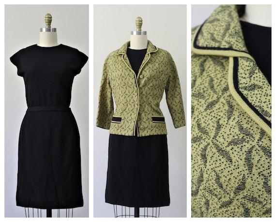 Vintage 50's 60's Galerie High Fashion ITALIAN 3 P