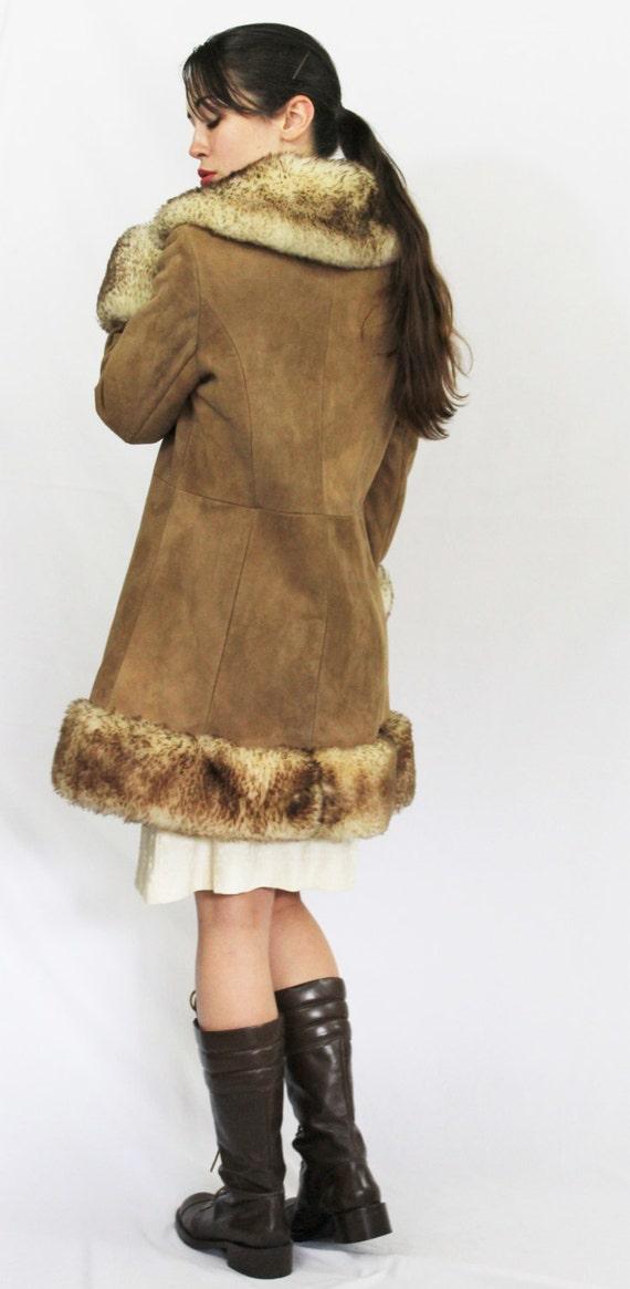 Coat 60's of Scully California Hippie Fur Sheepskin Angeles 70's Shearling Buckskin Leather Vintage Los Boho Princess Rq7vPZvd