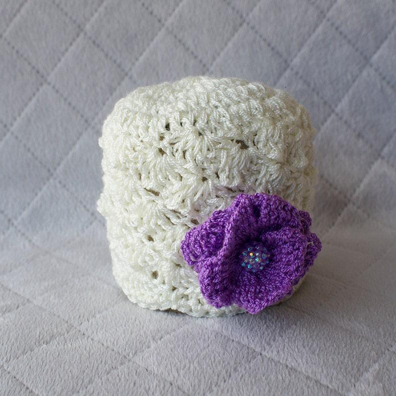 47089529b45 Spring Baby Hat Spring Girl Hat Baby Girl Hat Crochet Girl