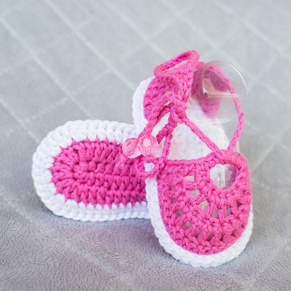 6cfca326649 Crochet Sandals Crochet Baby Girl Sandals Crochet Baby Girl