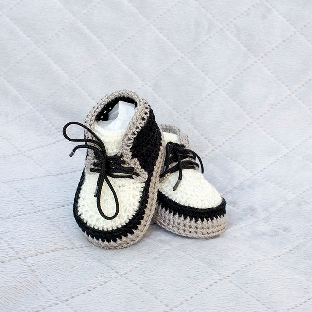 Crochet bebé zapatillas botines recién nacidos del ganchillo | Etsy
