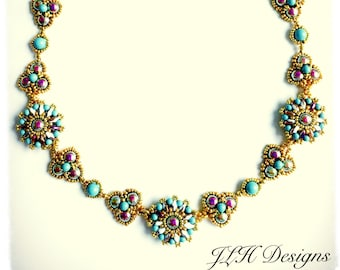 Tutorial - Necklace - Coronation Day