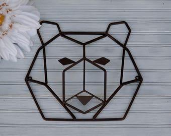 179774bf85 Metal Bear Wall Decor. Bear Decor. Bear. Metal Bear. Bear Head. Cabin Decor.  Nursery Decor. Lodge Decor. Hunters Decor. Faux Bear