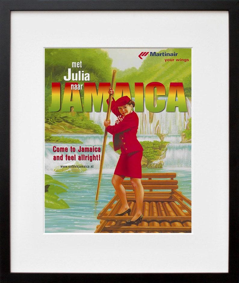 Travel Art Jamaica Print Poster Jamaican Vintage Home Decor Etsy