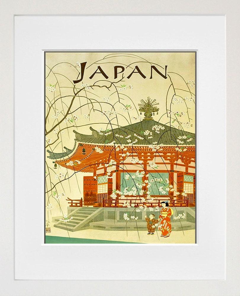 Japanese Wall Art Japan Print Travel Poster Home Decor ZT671 | Etsy