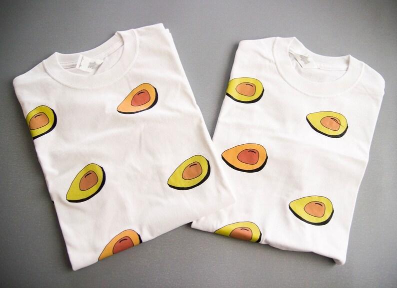 3112ab01fec174 SUPER SALE Avocado T-Shirt / Illustrated Unisex Tee Shirt   Etsy