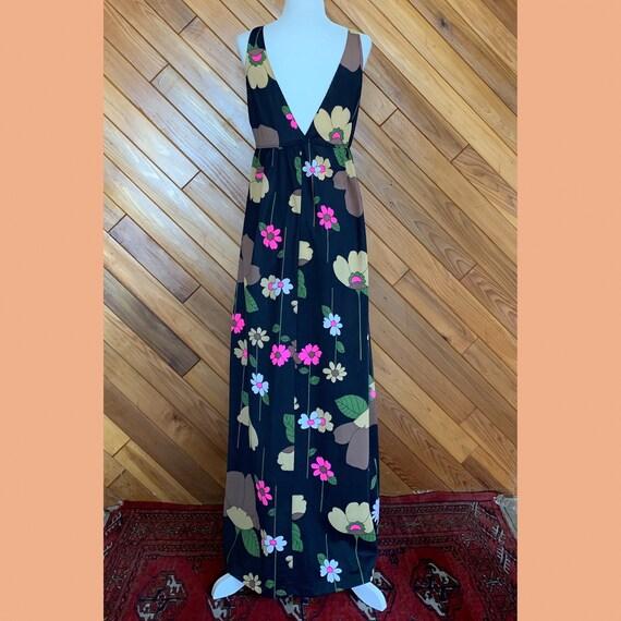60s Floral Slip Dress - image 3