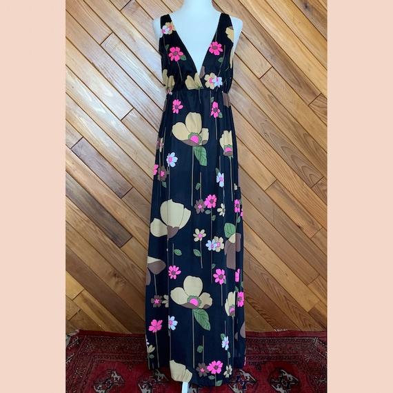 60s Floral Slip Dress - image 7