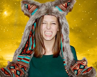 Express Your Inner Kreature with a CUSTOM HOOD! Pick an animal or kreature, color, and pattern!