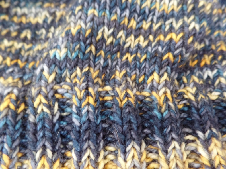 Steelers yellow black Women/'s Knit Beanie Hand dyed wool