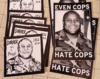 Vinyl Stickers (pair) - Christopher Dorner