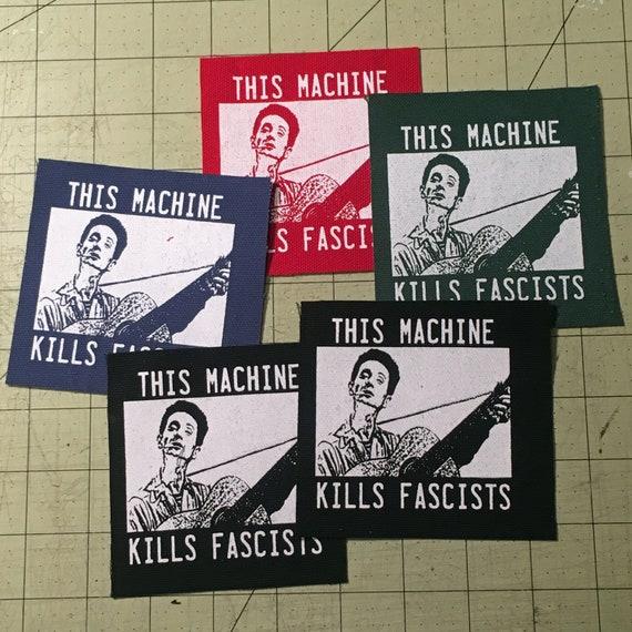 Woody Guthrie Center This Machine Kills Fascists Red Hat