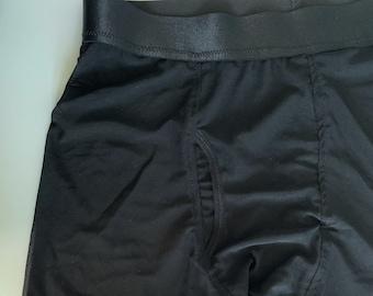 Sheer Mesh Boxer Briefs XS-5X Men's Underwear Lingerie