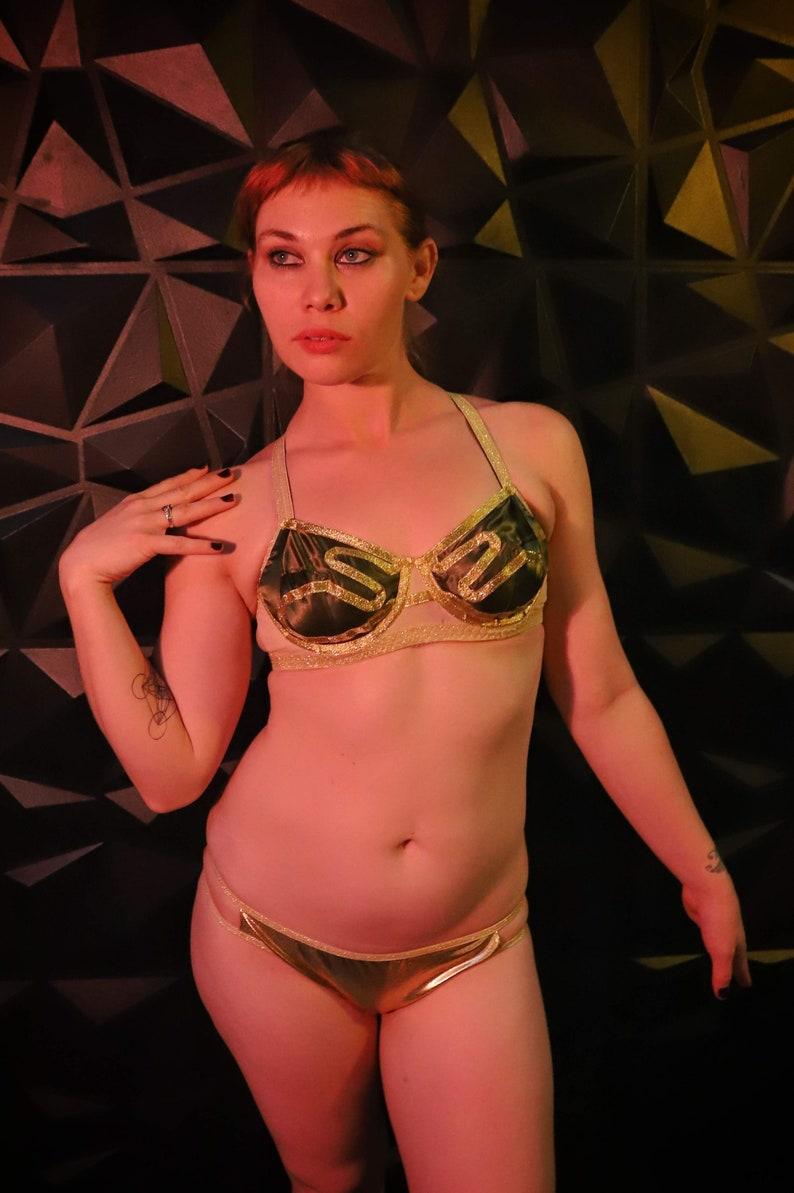 fb85a91194 Geek Lingerie Slave Princess Leia bra 30-40 AAA-DDD