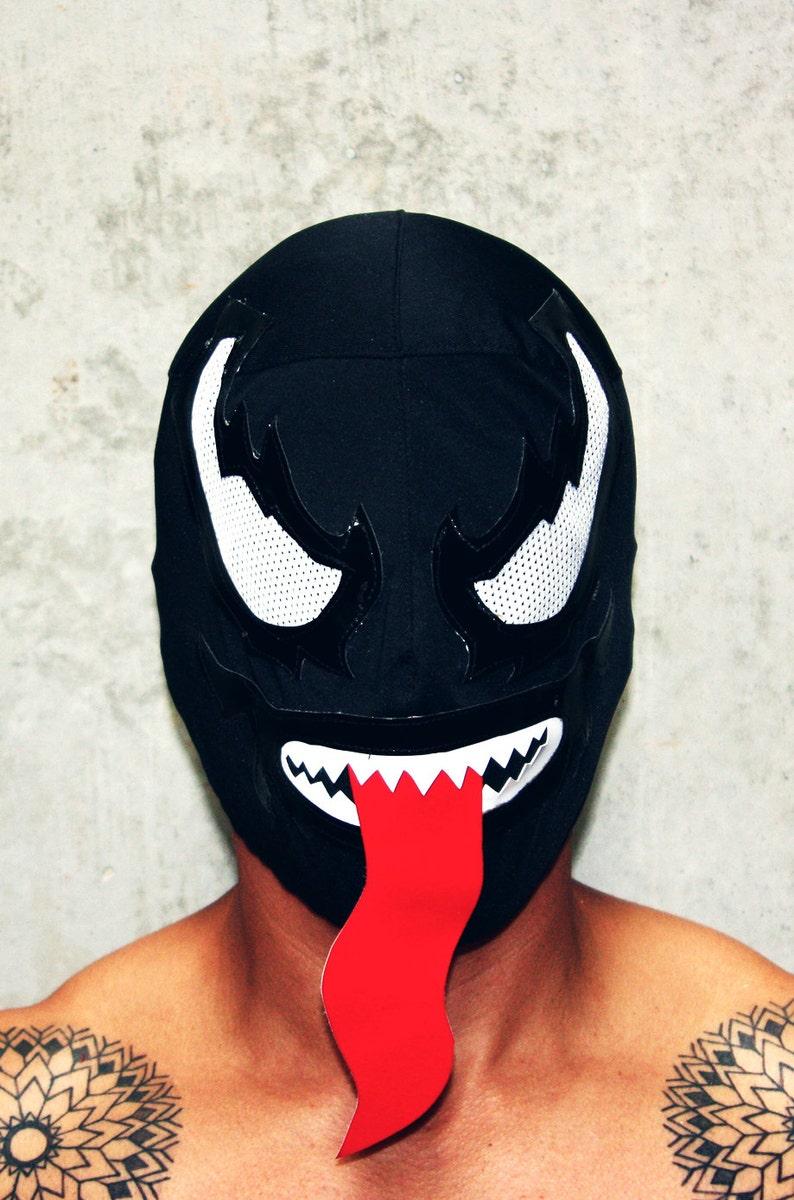 Как сделать маску венома картинки