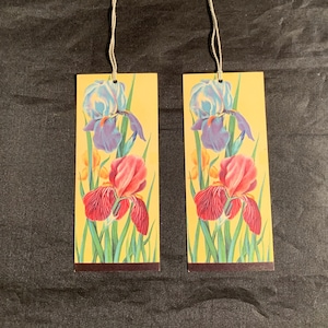 Rare Bridge Tallies by the Highland Guild Flower Adorned Tallie Cards