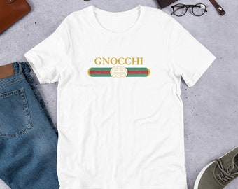 be58aafb7e96 GNOCCHI Vintage & High Fashion Distressed T Shirt