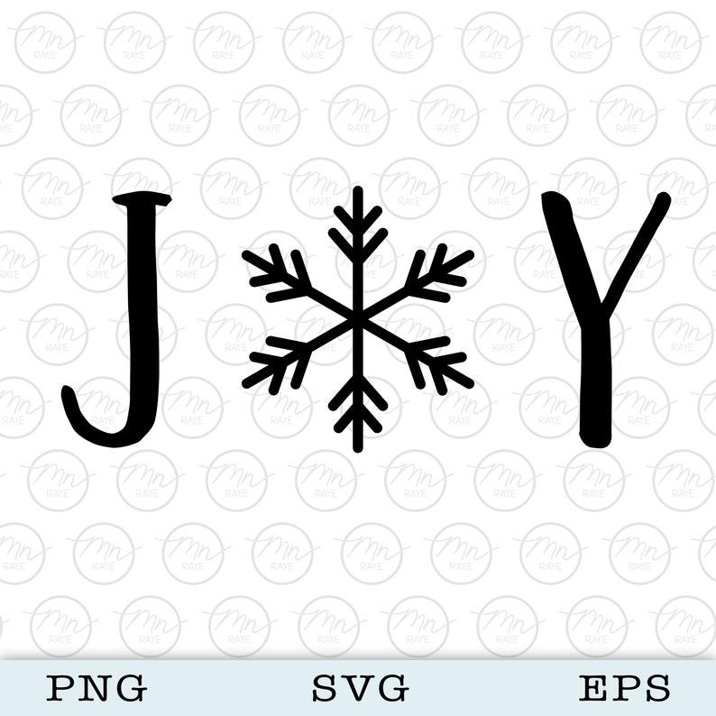 JOY svg Digital Clipart Files For Cricut Silhouette Cut image 0