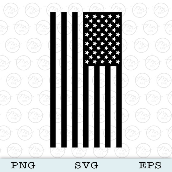 American Flag Svg Digital Clipart Files For Cricut Etsy