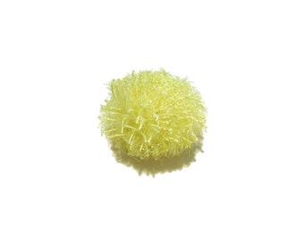 Lemon Sparkle Ball Catnip-Free Cat Toy