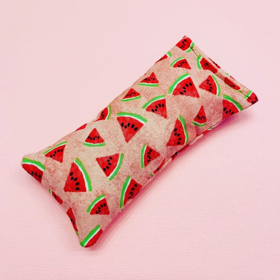 Summer Tropical Watermelon | Catnip Cat Toy Pillow | Catnip Kicker