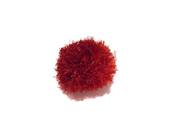 Strawberry Sparkle Ball Catnip-Free Cat Toy