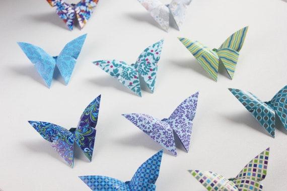 Paper Butterfly wall art. | Diy home crafts, Butterfly wall art ... | 380x570