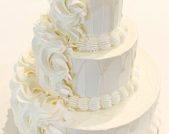 Fake Wedding Cake Etsy