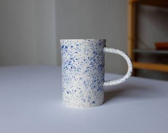 Ceramic Mug, Handmade Pottery Mug, Large Speckle Mug, Speckle Ceramic Mug, Modern Mug, Large Coffee Mug, Speckle Pottery, Housewarming Gift