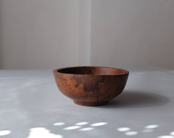 Small Wooden Bowl, Small Dish, Wooden Ring Holder, Jewelry Dish, Nut Bowl, Small Serving Bowl, Simple Wooden Bowl, Kitchen Decor, Home Decor