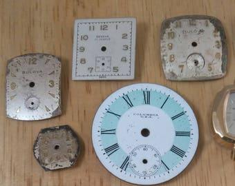 Vintage Watch Parts Lot 2