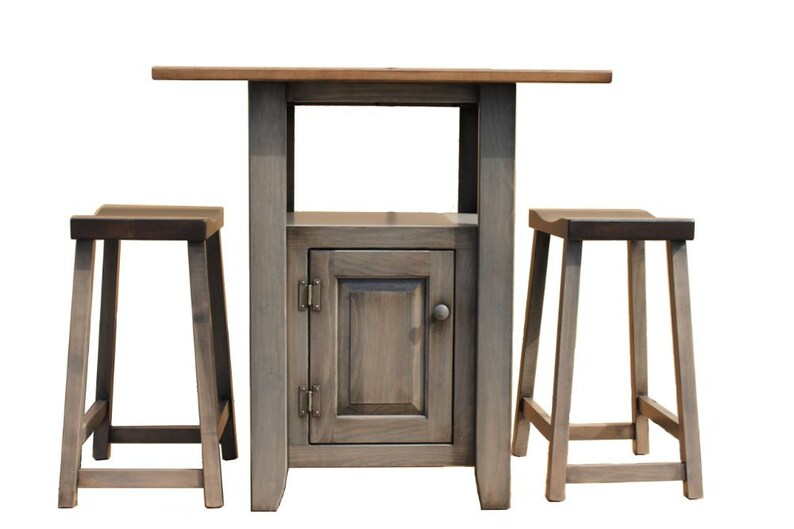 Phenomenal Small Kitchen Island With Stools Pewter Download Free Architecture Designs Grimeyleaguecom