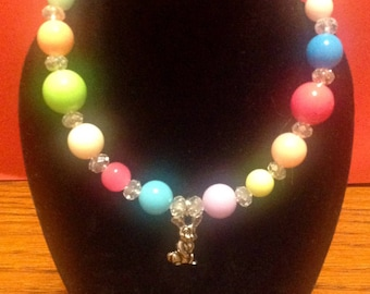 """Spring Jewelry Set - Necklace and Bracelet for Your 18"""" or American Girl Doll"""