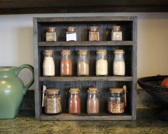 Kitchen Shelf Etsy