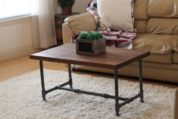 Attractive Rustic Industrial Coffee Table Rustic Home Decor Rustic | Etsy