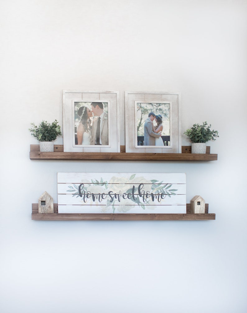 Merveilleux FREE SHIPPING | Rustic Wooden Picture Ledge Shelf, Ledge Shelf, Ledge  Shelves, Rustic Floating Shelf, Wooden Shelf, Rustic Home Decor