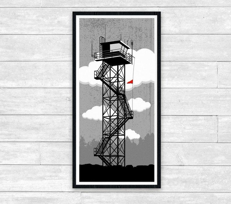 Coast Guard Tower Print image 0