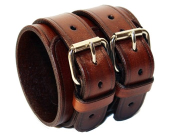 c9fa2ab533bcfb Brown Leather Cuff! Great Gift! Brown Cuff! Brown bracelet! Bracelet for  men! Bracelet for women! Cuff for men! Cuff for women!