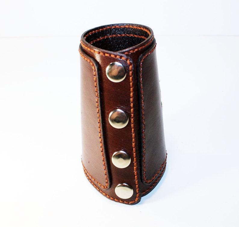 Celtic symols Handmade leather cuff Trquetra Viking cuff Tree of Life Vegvisir Viking symbols North symbols. Celtic cuff