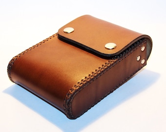 Belt Pouch! Leather Handmade Pouch! Brown Belt Purse! Belt Bag! Hip Bag! Medieval Pouch! Leather Bag! Leather Purse!