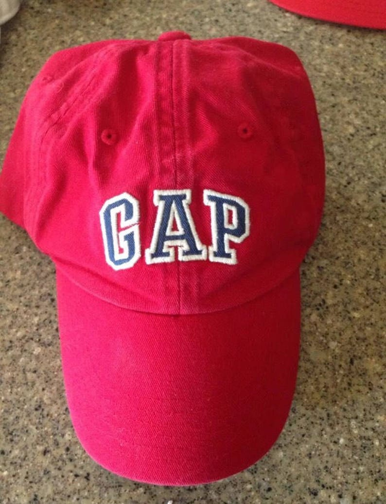 c095cf014b8b Vintage Gap logo baseball hat Kids M